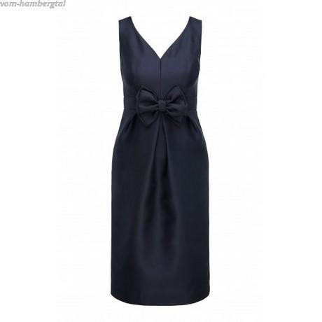 nachtblaues abendkleid