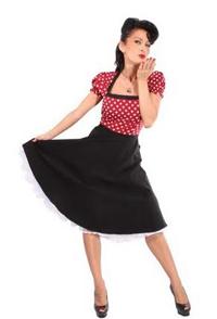 petticoat kleider mit ärmeln
