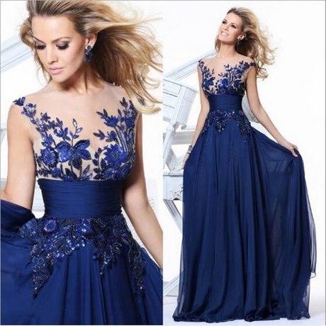 Kleid blau für hochzeit