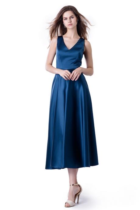Kleid midi blau