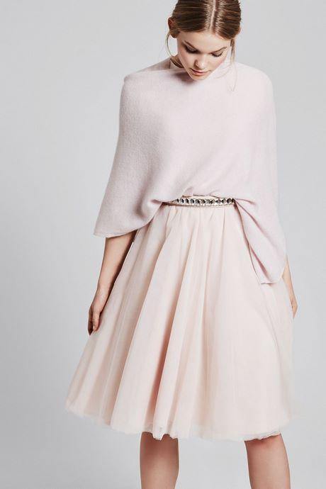 Kleid trauzeugin winter