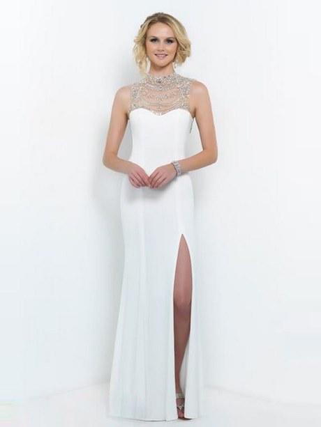 Kleid rückenfrei weiß