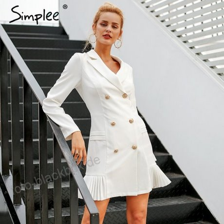 Kleid weiß winter