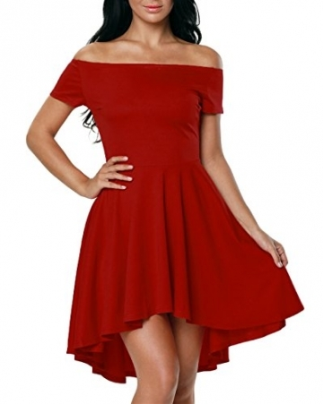 Sommerkleid rot kurz