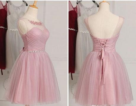 Cocktailkleid pink kurz
