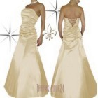 Ballkleid gold