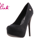 Blink high heels schwarz