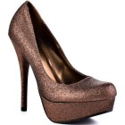 Bronze pumps