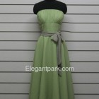 Chiffonkleid knielang