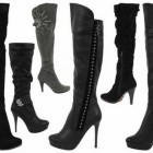 Damen stiefel high heels