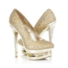 High heel gold