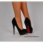 High heel rote sohle