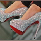 High heels mit strass