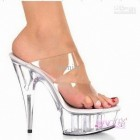 High heels transparent