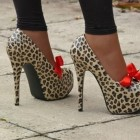 Leoparden high heels
