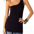 One shoulder shirts