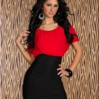 Rotes sexy kleid