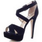 Schwarze damen pumps