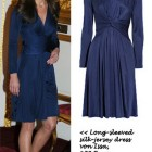 Blaues kleid kate middleton