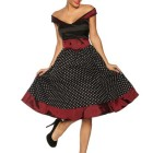 Rockabilly abendkleid