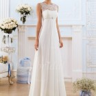 Brautkleid empire