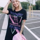 T shirt kleid outfit