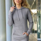 Sweatkleid grau