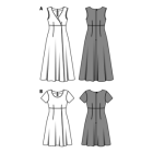 Kleid hohe taille