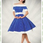 Petticoat kleid polka dots rockabilly