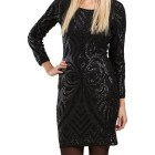 Only pailletten kleid